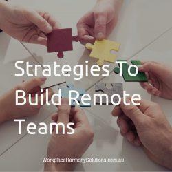 Strategies To Build Remote Teams